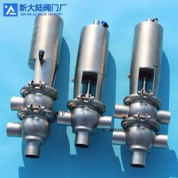 衛生級換向閥兩位三通/兩位四通氣動焊接換向閥
