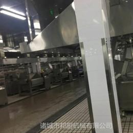 可定制中央廚房設備-諸城橫軸炒鍋