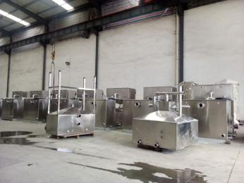 DNRP蘇州 火鍋店小型油水分離器 過濾器
