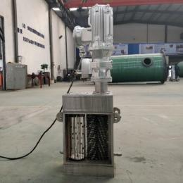 DNRP高流量大功率 粉碎型格栅破碎机 固液分离