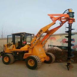 xy-20装载打桩两用挖坑机电线杆打桩机功率