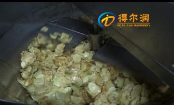 XY-6000型專業生產薯片油炸機流水線