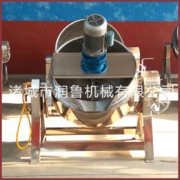 50至600L液化气、煤气、天然气等燃气加热搅拌夹层锅 熬汤用蒸煮锅 升温�鹂袼俣瓤�