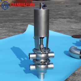 換向閥F型換向 閥 不銹鋼兩位四通氣動焊接換向閥