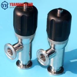安全閥衛生級快裝穩壓閥不銹鋼304/316L快裝安全閥