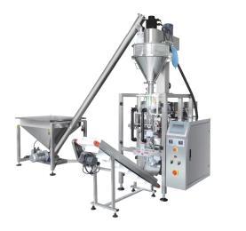 420粉剂立式包装机花生粉自动包装设备 豆奶粉立式包装机厂家
