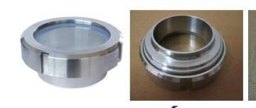 DN15厂家直销 供应不锈钢卫生级活接视镜 管件