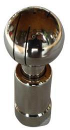 DN15厂家直销 供应国禹不锈钢旋转型清洗球 管件