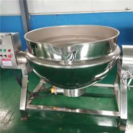 JM-600电加热带搅拌夹层锅特点