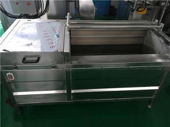 JM-1000土豆红薯毛辊去皮清洗机型号