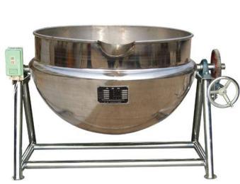 JM-400不锈钢燃气搅拌可倾夹层锅
