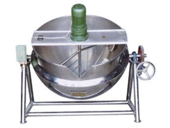 JM-500海带电加热带搅拌夹层锅