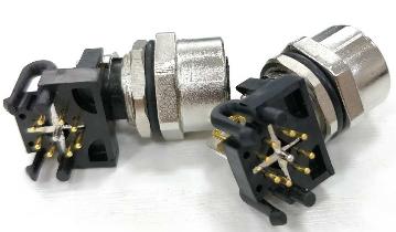 KYF12K2ZT-L2MM12传感器执行器电缆连接器3芯4芯5芯8芯