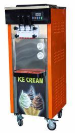 宁波冰淇淋机带双蛋筒架 制冷快!