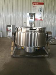 全自动不锈钢300L电加热果脯熬制搅拌锅夹层锅