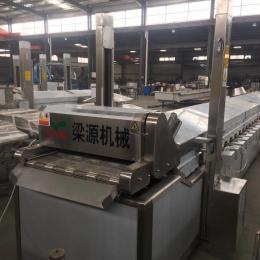 LY-5500定制全自動薯片條高溫油炸流水線的廠家質量