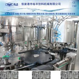 DGF18-4全自动铝罐二合一灌装设备,易拉罐饮料灌装机(含汽)