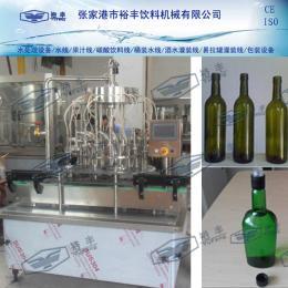 5000-6000瓶/小時 玻璃瓶酒水灌裝設備、酒水灌裝機