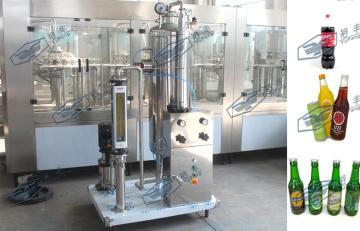2吨/小时单桶CO2饮料混合机,二氧化碳饮料混合机
