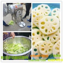 LJ-600葱 白菜 切菜机 可以切各种各样果蔬的机器 可以切成多种形状的机器