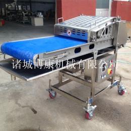 鸡排压整机诸城博康肉类整形、牛排压肉机、切片机配套设备