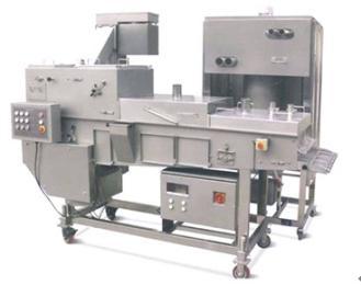SFJ400生產供應雞腿、雞翅裹粉機、食品粘粉機