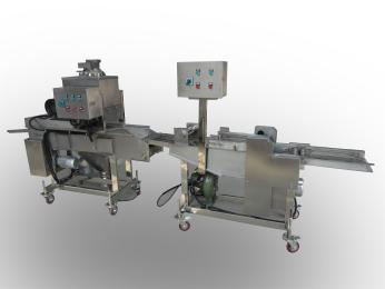 NJJ300上浆机厂�家直销食品裹浆机、裹粉机、自动打浆机