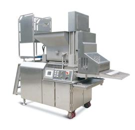 雞塊成型機肉餅成型機CXJ600漢堡肉餅成型機