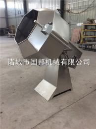 GB-800國邦牌八角掛糖機 八角調味拌料機 拌料均勻大小可定制