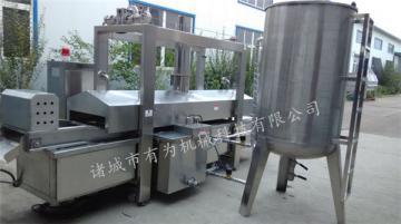 YWDZ-3000天津脆皮油炸機 自動控溫進出料脆皮油炸機專業廠家