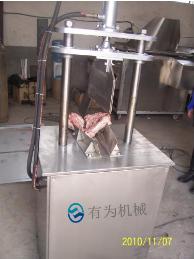 PB-100全自动猪头劈半分割机