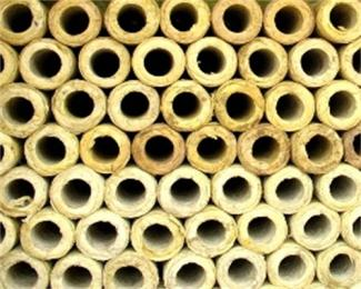 供应保温岩棉管/厂家批发矿物纤维憎水卷板岩棉管