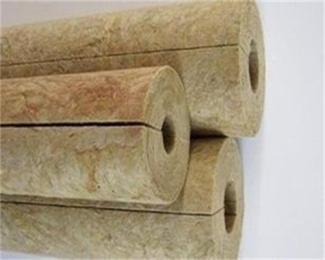 专业供应保温岩棉管 防水、防火岩棉管 机制岩棉管
