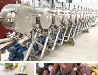馬鈴薯淀粉生產設備
