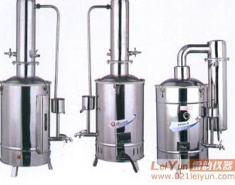 全自控型蒸馏水机,不锈钢蒸馏水发生器,供选择10L/5L/20L不锈钢电热蒸馏水器