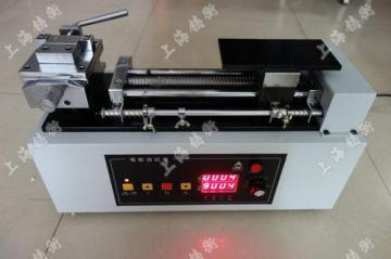 电线电缆专用电动卧式测试台