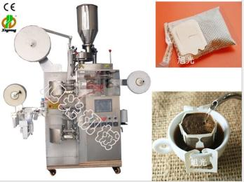 挂耳式咖啡颗粒包装机、广州挂耳式包装机