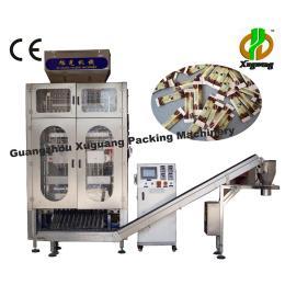多排背封颗粒包装机|多排咖啡包装机|多排砂糖包装机