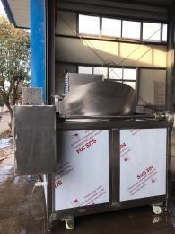 SZ1000厂家供应环保型肯德基风味鸡排自动油炸机
