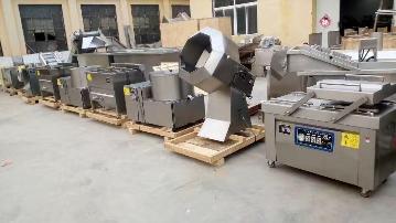 SZ500直銷環保型速凍薯條薯片加工生產流水線設備