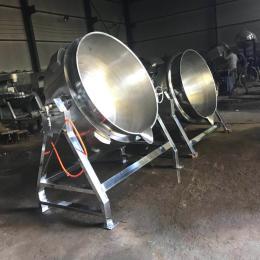 400L蒸煮卤制专用电加热夹层锅