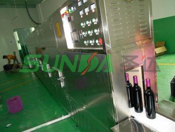 節能型水洗黑芝麻微波熟化設備價格