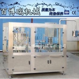 12-1n2012易拉罐清洗灌装封口机蓝枸植物饮料 全自动易拉罐灌装机BBR-993