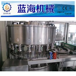 灌装机械-生产销售 易拉罐果汁(不含汽)饮料包装生产线