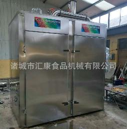 QYX-500型生产猪耳朵烟熏箱 鹌鹑蛋蒸熏箱 汇康制造