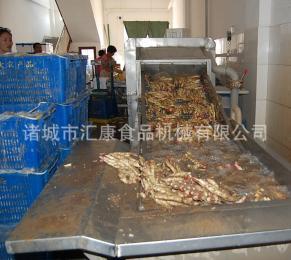 PL-6药材喷淋清洗机,田七天麻清洗设备