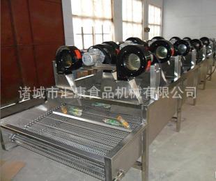 FG-6连续式风干机,酱菜包装袋风干机,水果沥水风干机