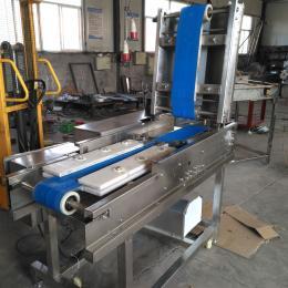QTJ-2000型新鲜鸡胸肉切片机 连续式切肉片机器