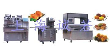供應成套月餅生產設備 誠若牌月餅機 半自動PLC月餅生產線