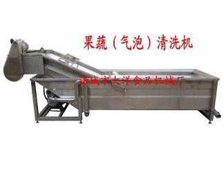CQX-400气泡清洗机设备,传送带清洗机